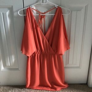 Super cute backless ark&co cocktail dress